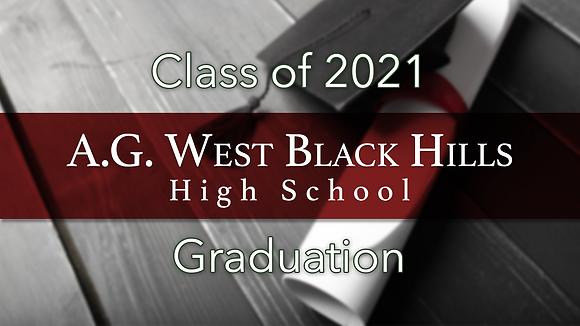 A.G. West Black Hills High School 2021 Graduation