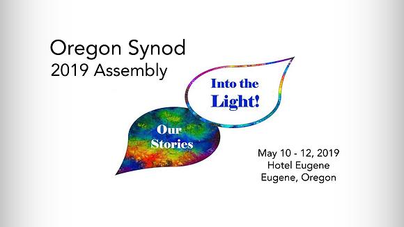 Oregon Synod 2019 Assembly