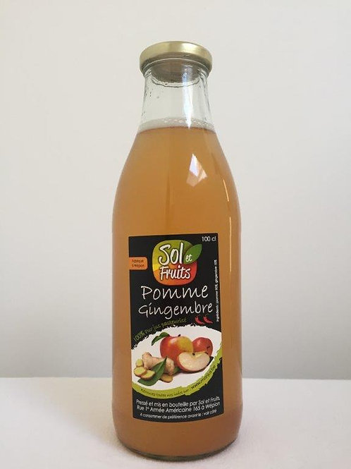 Jus pomme-gingembre 1l