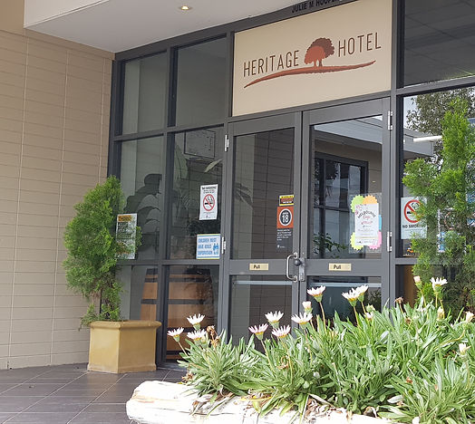Heritage Hotel Wilberforce. A great local pub, perfect for families and visitors in the Hawkesbury region.