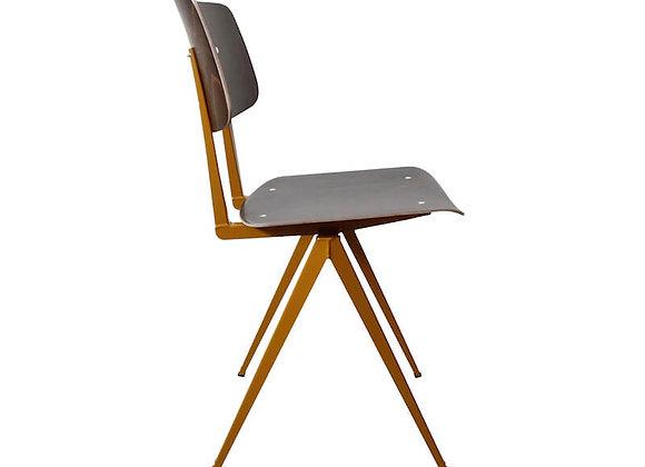 S.16 chair エボニー/オーカーブラウン