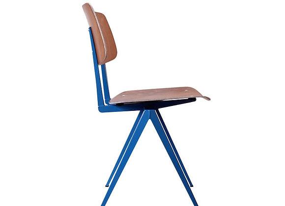 S.16 chair ブラウン/アジュールブルー
