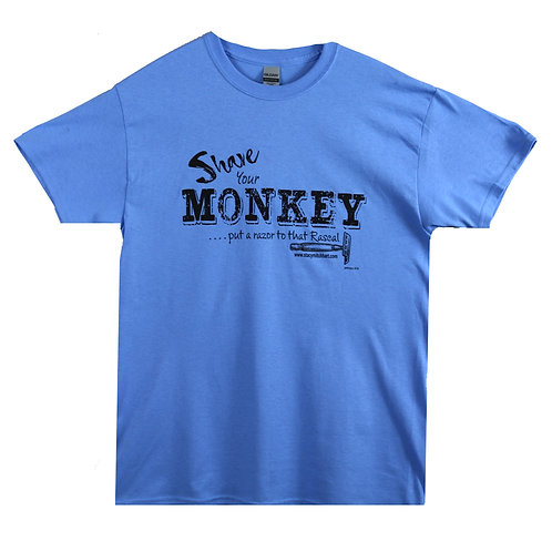 SHAVE YOUR MONKEY T-SHIRT
