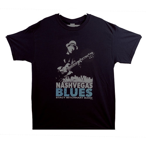NASHVEGAS BLUES BLK T