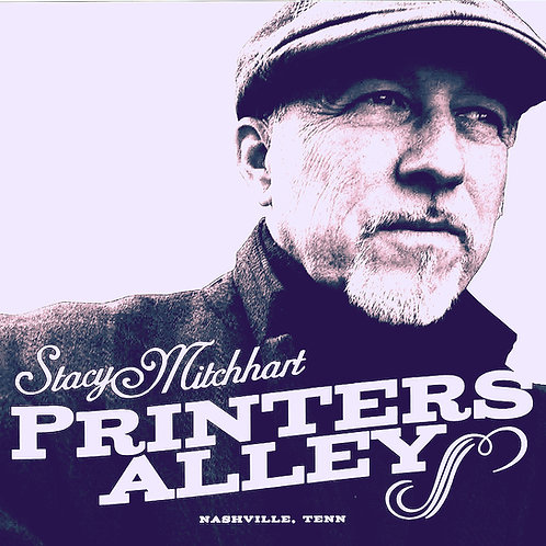 """""""PRINTERS ALLEY"""" New Album From Stacy Mitchhart"""