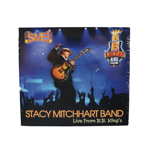 """STACY MITCHHART BAND CD """"LIVE FROM B.B. KING'S"""""""