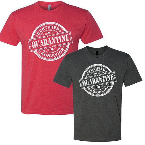 Certified Quarantine Survivor (Tshirt)