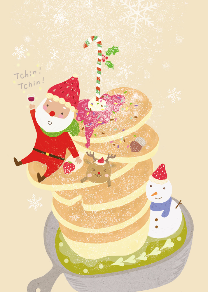 聖誕舒芙蕾鬆餅