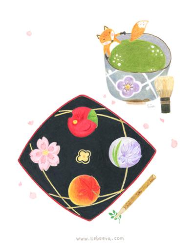 歲時京都-和菓子