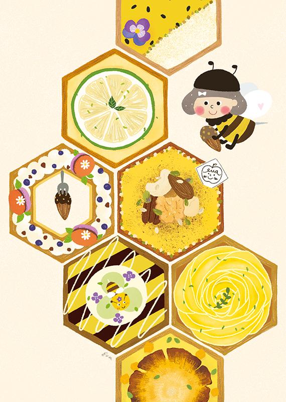 蜜蜂甜滋滋