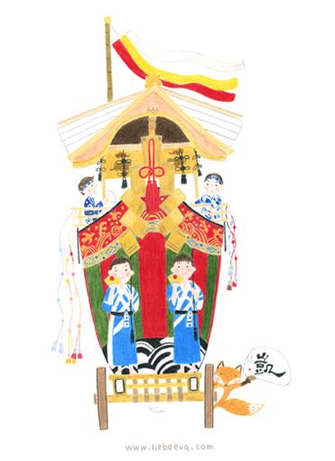 歲時京都-大船鉾