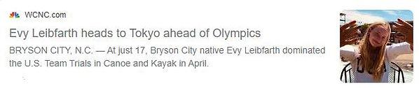 Evy Leibfarth Olympic Team Trials