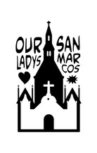 Our Lady's / San Marcos collaboration logo