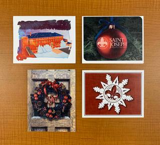 SJP Xmas cards