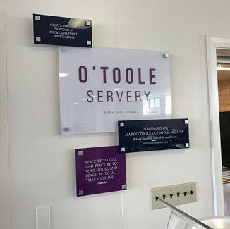 O'Toole Servery signage