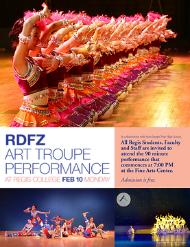 RDFZ Art Troupe Performance