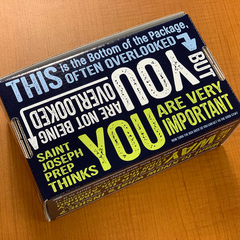 bottom of box