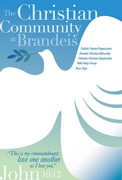 Brandeis Univ. bulletin board poster