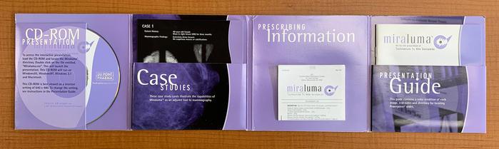 Miraluma CD-ROM package