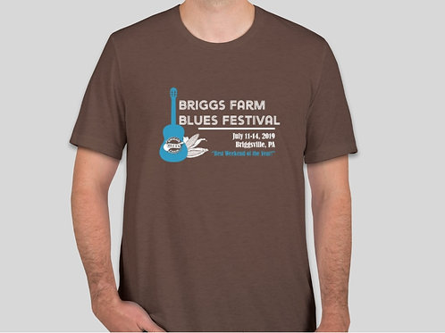 2019 Festival T-Shirt (Brown)