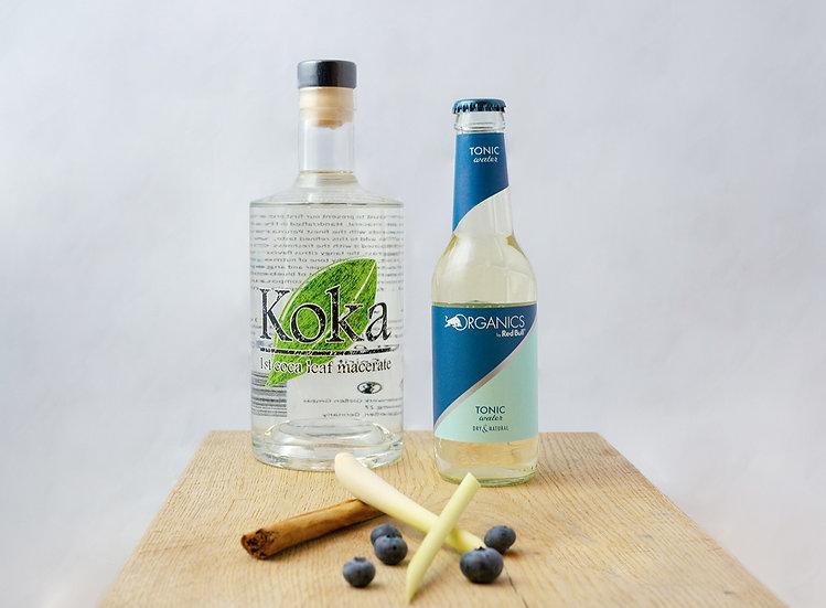 Koka Mazerat Probierpaket | inkl. Drop Bottle | inkl. 4x Organics Filler