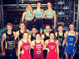 Priprave v Nemčiji z novim klubom ROWE Triathlon Team