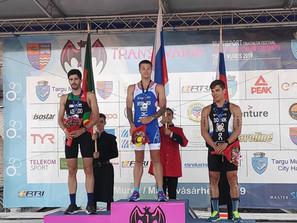 3. mesto na evropskem prvenstvu v srednjem triatlonu!