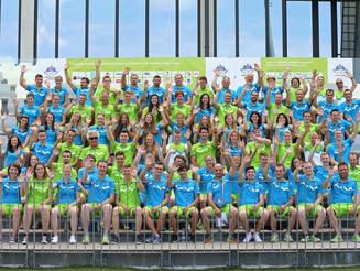Predstavitev slovenske reprezentance za evropske igre v Bakuju 2015