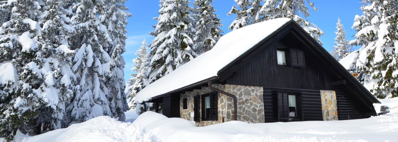 Chalet Klara in winter time