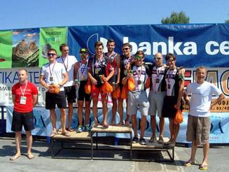 Postali ekipni državni prvaki slovenije v triatlonu