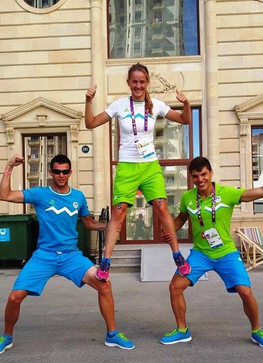 Domen Dornik Sandi Ivancic Eva Skaza european games baku 2015.jpg