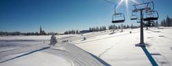 Skiing area at Rogla
