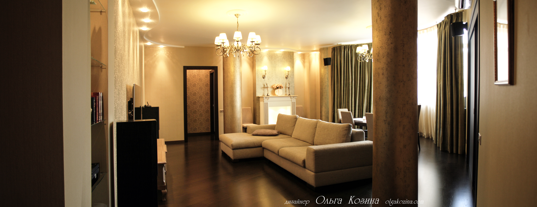 Квартира на Кутузовском ,гостиная