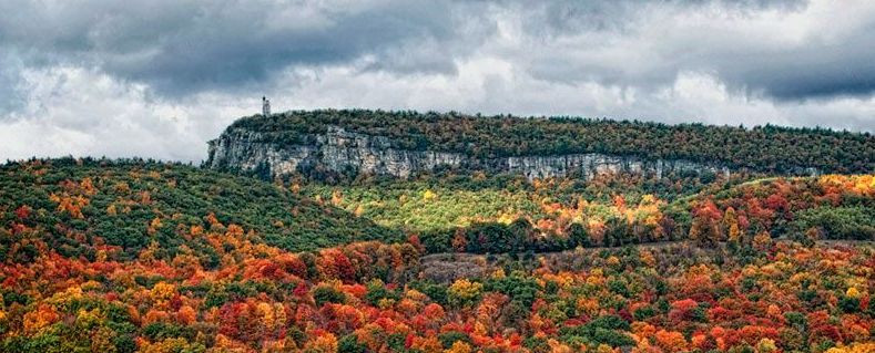 Shawangunk Mountain Ridge