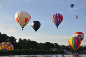 hot air balloons in Middletown