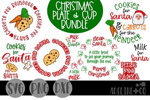Christmas plate and mug Bundle