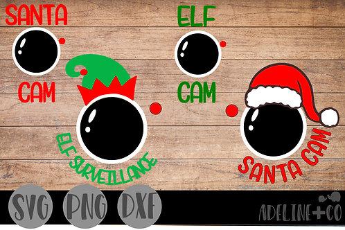 Santa cam, Elf cam, bundle