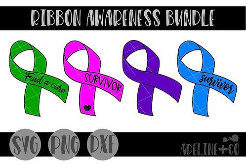 Cancer ribbon bundle