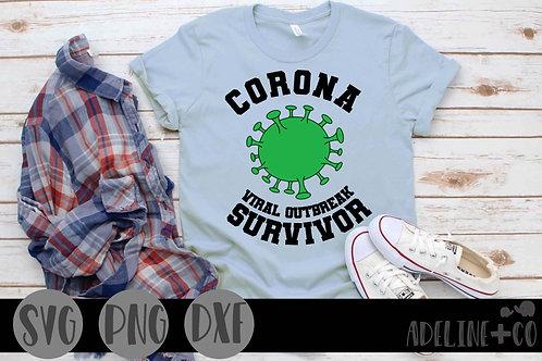 Corona viral outbreak survivor