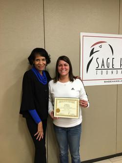 Gina Rennick's Certificate