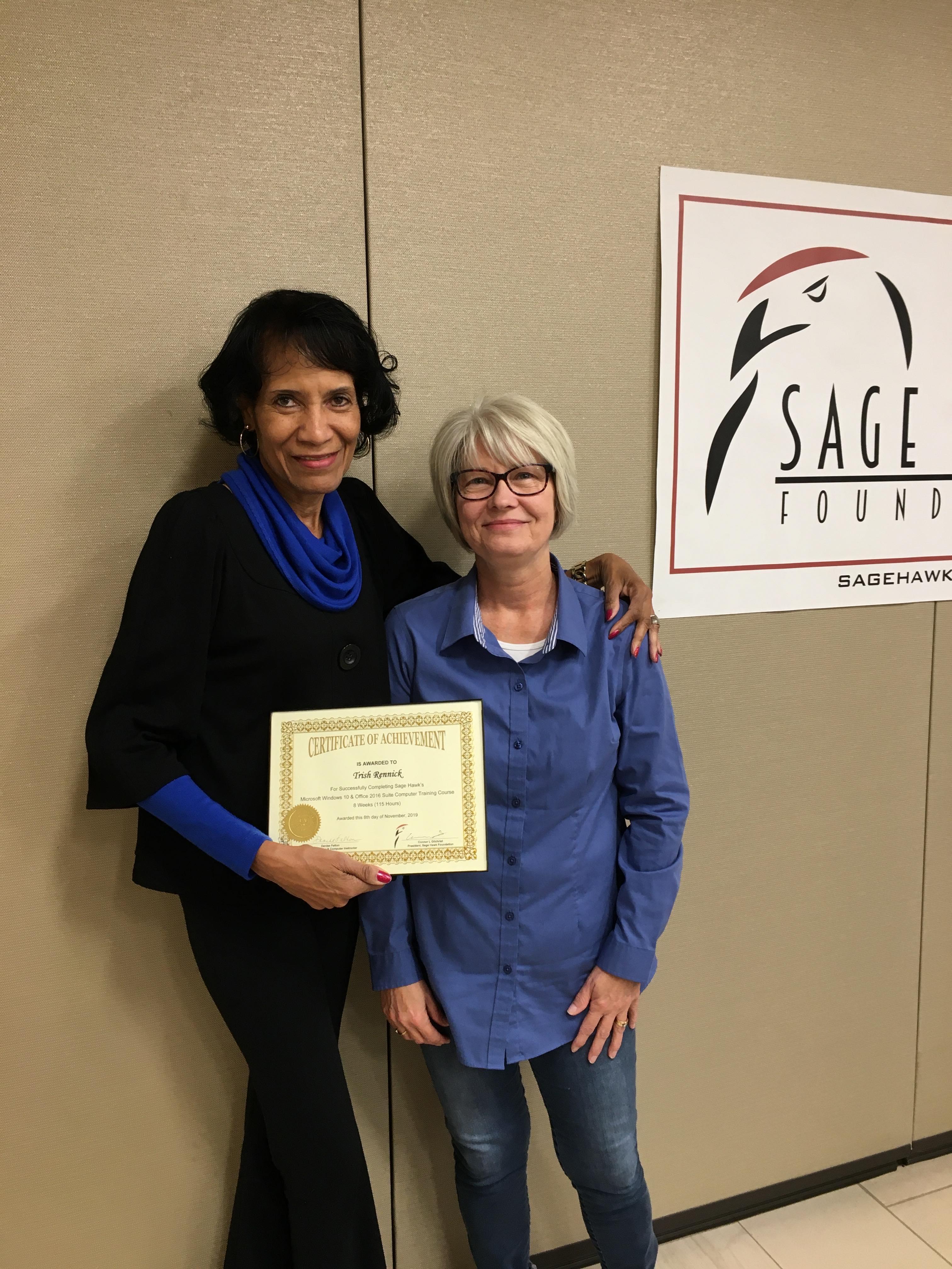 Trish Certificate