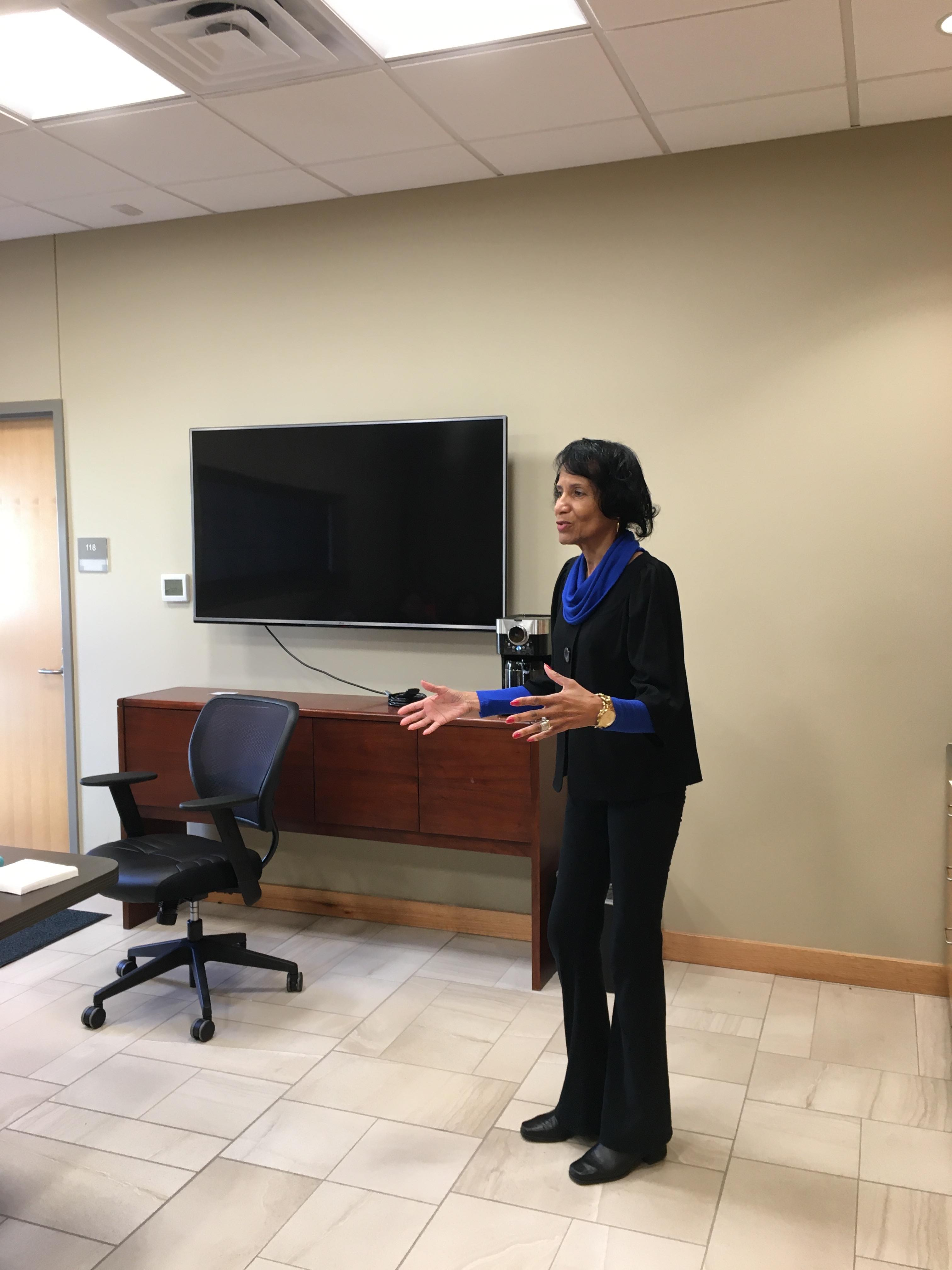 Denise addresses her 2019 grads