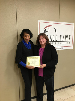 Donna Leonard Certificate