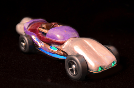 Pine wood derby car #7