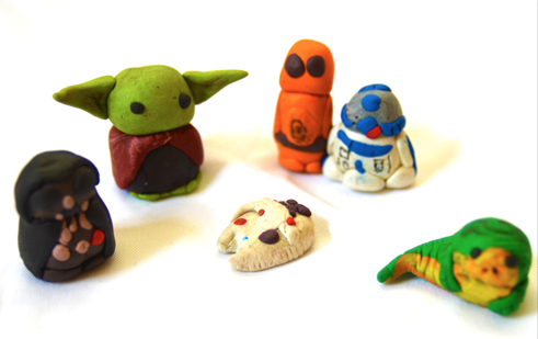 Star Wars - Polymer clay