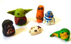 Star Wars - Polymer clay