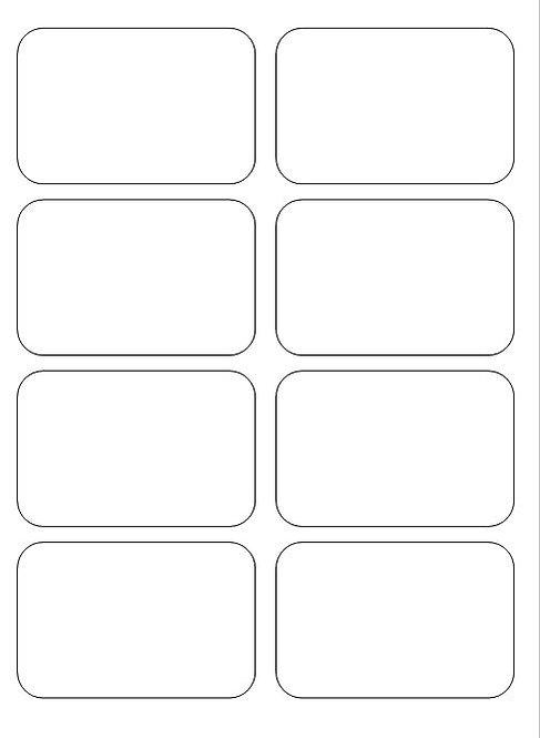 GRATUIT - Modèle/gabarit .PDF pour feuille 9 cartes à imprimer