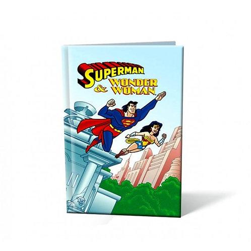 Superman et Wonderwoman - Livre personnalisable enfant