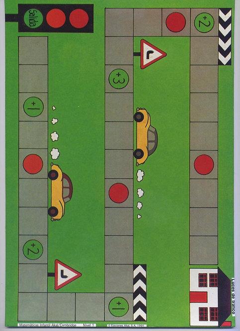 GRATUIT - Modèle plateau jeu voitures circuit