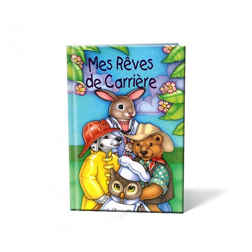 Mes rêves de carrière - Livre personnalisable enfant